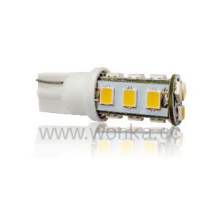 12V AC / DC 1W T10 Wedge Base LED Decoración Luz / Bombilla