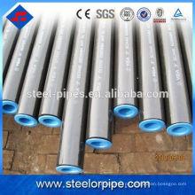 SS400, Q195 tubo de aço carbono fabricado na China