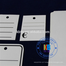 Calças de brim Clothes Garment hang tags tags de preço