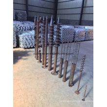 Anclaje de tornillo, Montaje PV Tornillo de tierra
