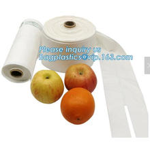 100% compostable plastic fruit bags,PLA bag of fruit, compostable fruit bag, compostable clear vegetable fruit printed carrier