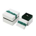 Luxus Ring Halskette Schmuck Papierverpackung Geschenkbox