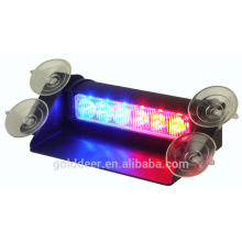 6 LED Auto Led Strobe Light Led Dash Warning Light with Visor