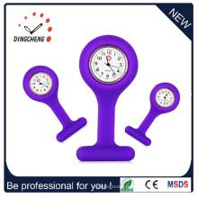 2015 Neue Art-Förderung-Silikon-Geschenk-Krankenschwester-Uhr (DC-908)