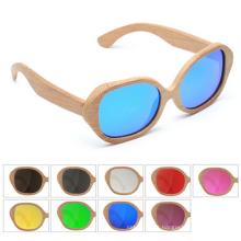 óculos de sol de madeira polarizados private label óculos de sol