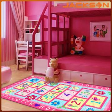 Bestseller Nylon gedruckt lange Stapel Kinder Bodenteppiche