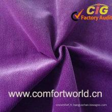 Tissu de sofa de tricotage de chaîne
