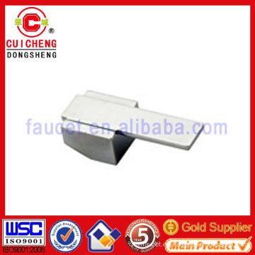 Manijas del grifo de la aleación del cinc, mezclador del grifo maneja alta calidad