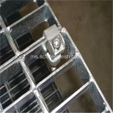 Perak Galvanized Steel Bar Grating Floor / Platform