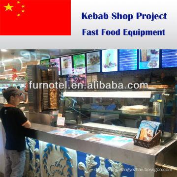Shinelong Shawarma Kebab Restaurant / Shop Solution