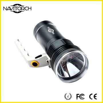 Silver Long Run Time Portable Waterproof Portable Light (NK-855)