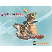 La cinta de la bobina del brawn de la alta calidad de ADShi recubrió las ametralladoras hechas a mano del tatuaje