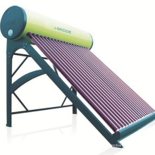 Hot Selling  Domestic Compact Pressurized Solar Water Heater With Heat Pipe