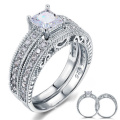 Wedding Rings 925 Sterling Silver Jewelry for Women