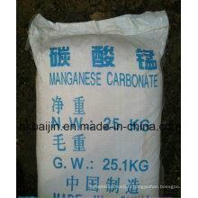 Poudre de carbonate de manganèse de qualité industrielle