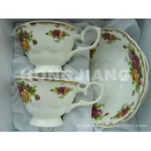Bonechina Cup & Saucer
