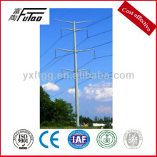 35KV galvanized polygonal steel power pole
