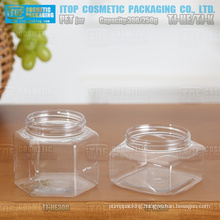 250g and 300g various design high quality color customizable multi usage low cost special pet jar