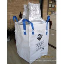 Haute qualité bas prix 1.5 tonnes en vrac sac emballé amidon de maïs taille 110X110X110cm