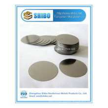 High Purity Moly Disc / Molybdenum Disc Supplier From China Leading Factory with Top Quality