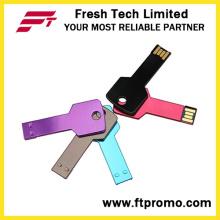 Metal chave USB Flash Drive com seu logotipo (D352)