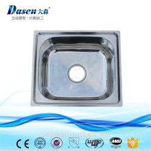 DS 4640 China Commercial portable kitchen free standing stainless steel table top 10 basin bathroom sink