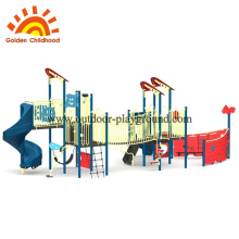 jungle gym outdoor structures boat theme