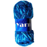 Fancy Knitted Loop Yarn, Made of 38% Acrylic and 62% Polyester