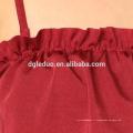 Vente chaude bikini sexy fronde rouge de haute qualité