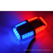 Bernsteinfarbige LED-Mini-Warnleuchte 12V 24W