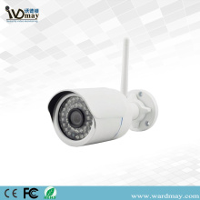 Gidan Telebijin na CCTV H.264 1.0MP Wireless WiFi Harsashi IP kamara