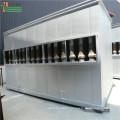 Collecteur de poussière multi cyclone haute efficacité pour chaudière biomasse