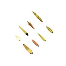 ICL018 5g 7g plantillas de tungsteno hielo señuelo de la pesca 37mm 42mm