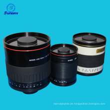 500mm f / 8 tele lente do espelho para canon rebelde xsi 450d xs 1000d t1i t5i t4i