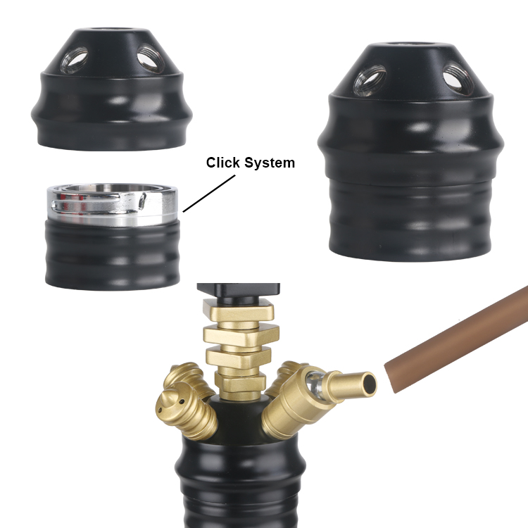 High Quality Chinahookah Zink Alloy Shesha Hookah 3