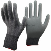 NNMSAFETY nitrile coated best quality cut resistant safe hand gloves