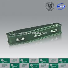 Chinês do caixão fabricante LUXES estilo australiano A30-SSZ caixão camas