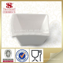 Porcelain plain square small white ceramic bowl bowls for restaurant