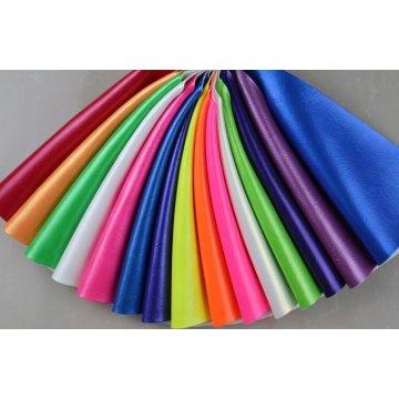 Cuero sintético consolidado del PVC de la PU para el sofá (868 #)