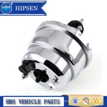 """Booster de vide de frein chromé à double diaphragme Universal Hot Rod Street 8 """""""