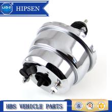 "Universal Hot Rod Street 8"" Dual Diaphragm Chrome Brake Vacuum Booster"