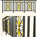 Aluminum Decorative Security Fencing