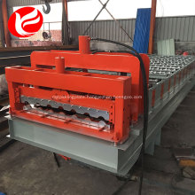Cold rolled steel glazed tile rolling and forming machine