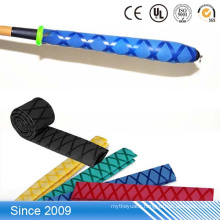 PE material insulation sleeve heat shrinkable rubber tube for Badminton racket