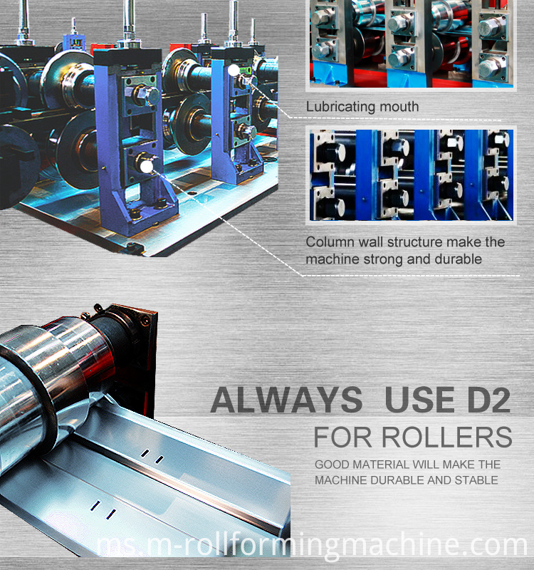 cold roll forming machine
