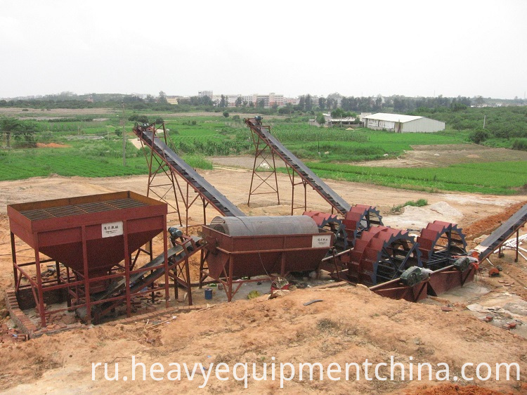 Sand Washing and Dewatering