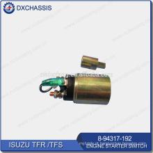 Interruptor genuíno 8-94317-192 do Stater do motor de TFR TFS