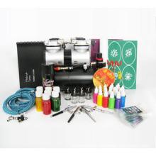 Temporary Airbrush Tattoo and Nail Art Kit