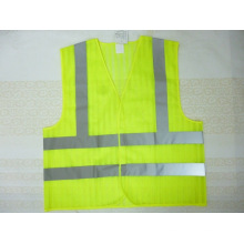 Safety Vest Made of Special Mesh Fabric