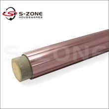 Tige de rideau en métal doré violet 28mm
